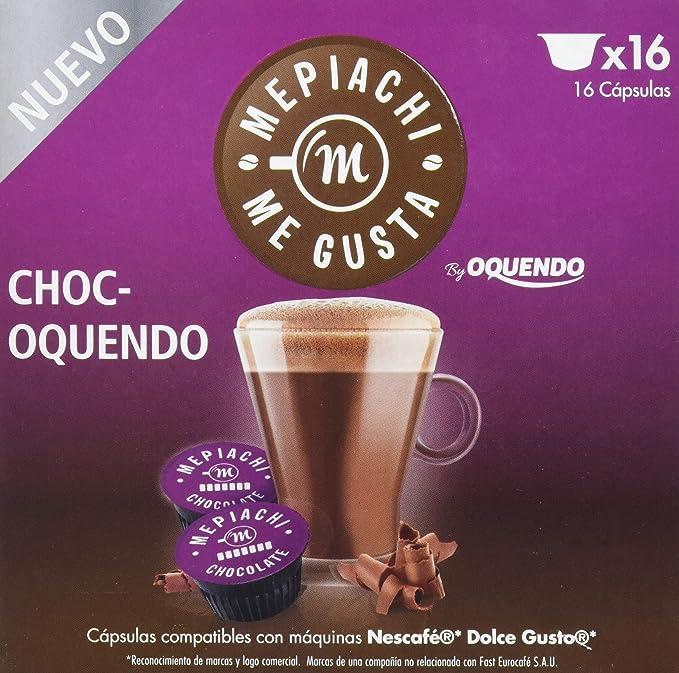 Mepiachi, Choc-oquendo - 3 de 16 cápsulas (Total 48 cápsulas): Amazon.es: Alimentación y bebidas