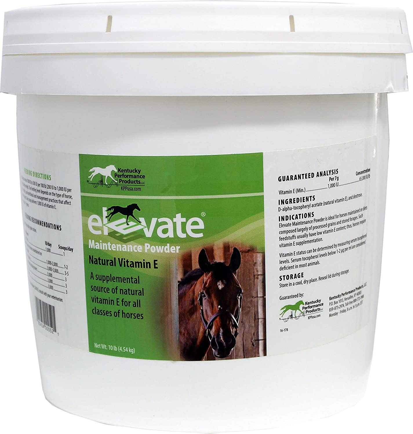 Kentucky Performance Products 044344 Elevate Maintenance Powder Supplement for Horses