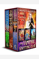 The Vampire Knitting Club Boxed Set: Books 4-6: A paranormal cozy mystery Kindle Edition