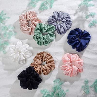 Chic Bridal Party Elegant Flower Girl Proposal Gift Box Champagne Velvet Scrunchie To Have /& To Hold Your Hair Back Rose Gold Card