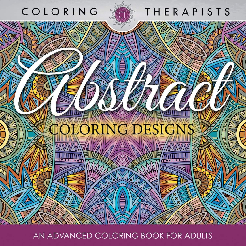 Amazon.com: Abstract Coloring Designs: An Advanced Coloring Book