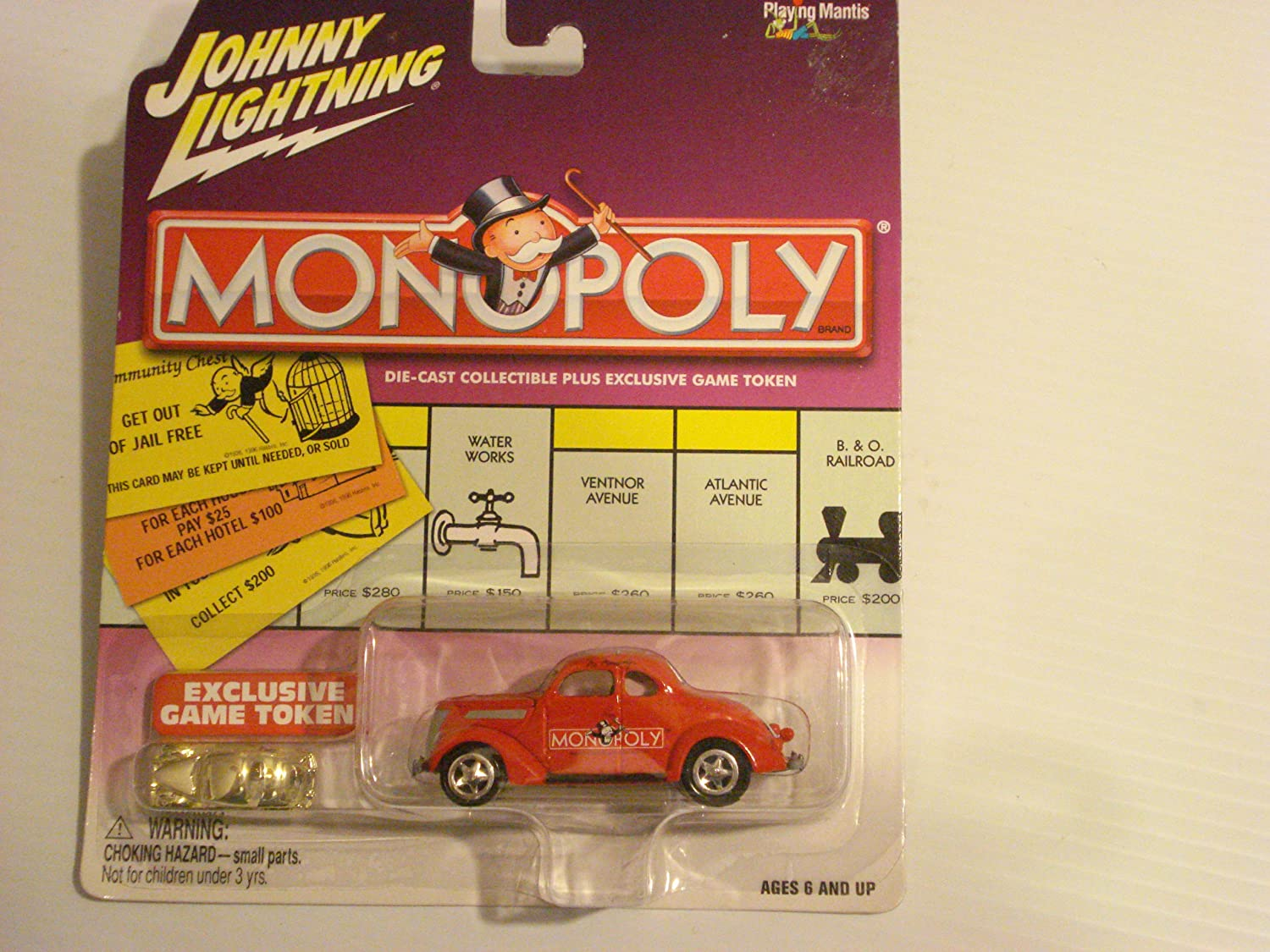Amazon Com Johnny Lightning Monopoly Kentucky Ave 37 Ford Coupe