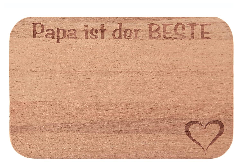 FABRIKSTORES GmbH Frühstücksbrettchen/Frühstücksbrett mit Gravur ...