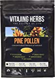 Pine POLLEN Powder Extract (2oz - 57gm) Raw Organic Wild Harvested - 99% BROKEN CELL Wall
