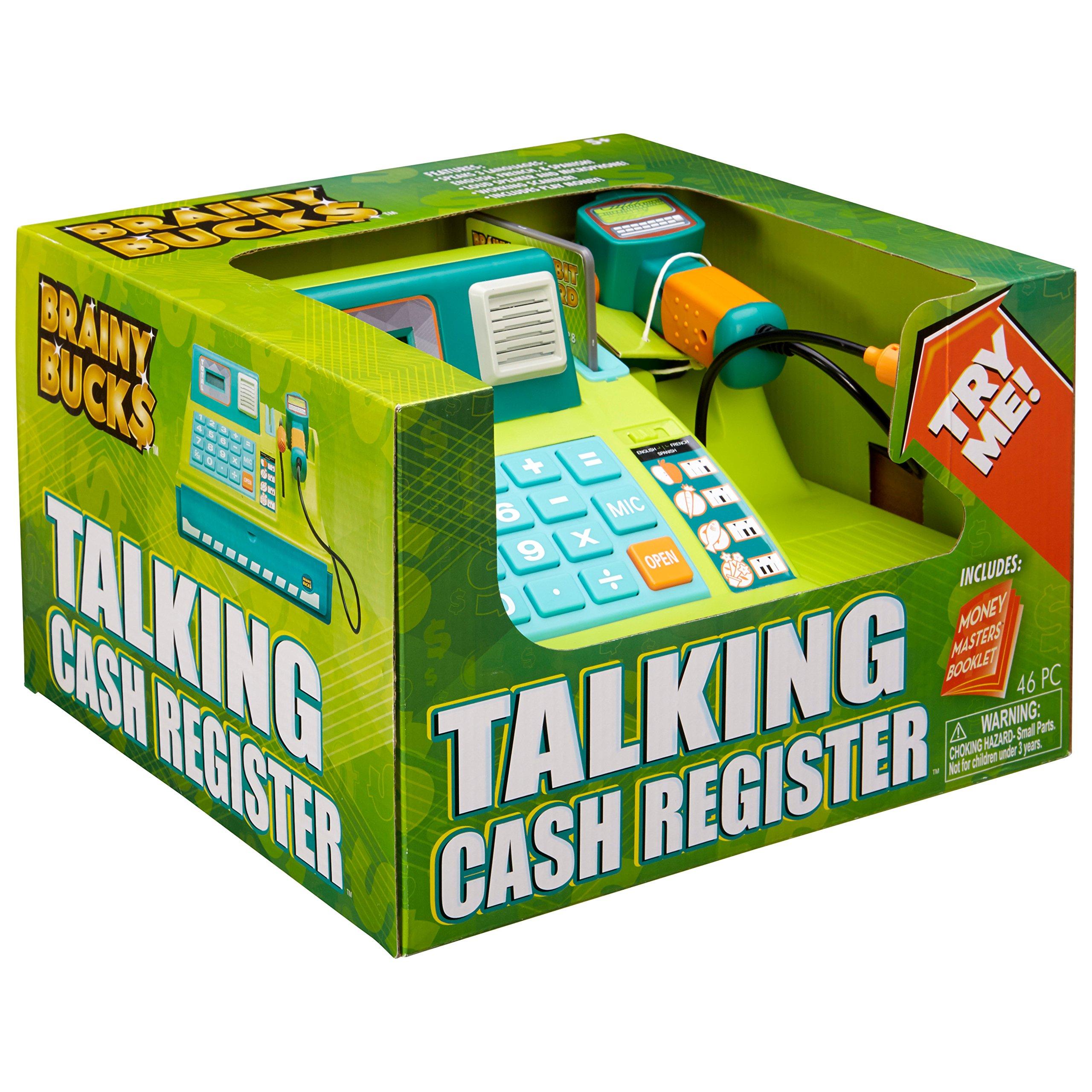 Brainy Bucks Talking Cash Register Toy by Brainy Bucks