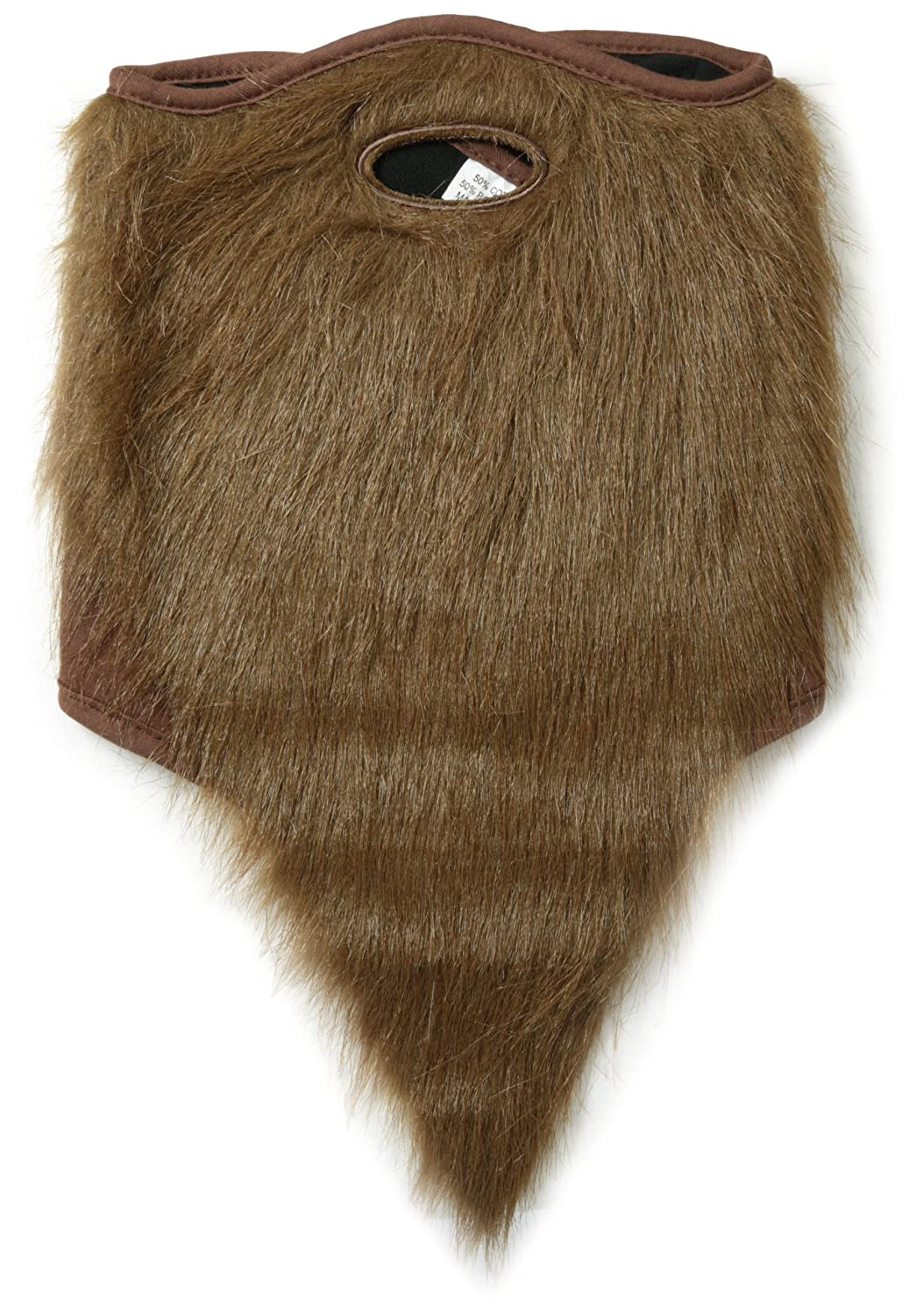 neff Men's Bearded Mask neff Men's Bearded Mask Brown One Size Neff Young Men's