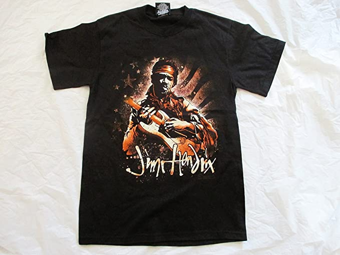 8099c2f5 Image Unavailable. Image not available for. Color: Jimi Hendrix 2007 Vintage  Rock N Roll T Shirt Small