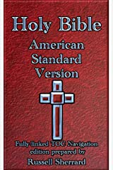 Holy Bible - American Standard Version Kindle Edition