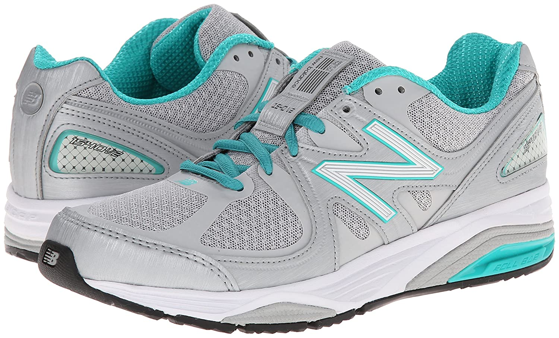 New Balance Women's W1540V2 Running Shoe B00IZC77O2 9.5 2E US|Silver/Green