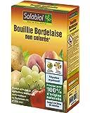 Solabiol SOBOU400 Bouillie Bordelaise 400g - Non Colorée - Traitement Mildiou, Tavelure Cloque   Utilisable en Agriculture Biologique
