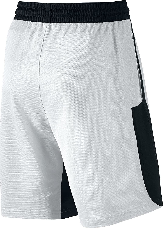 Nike Breeze Men's Basketball Shorts (XX-Large, White/Black) at Amazon Men's  Clothing store: