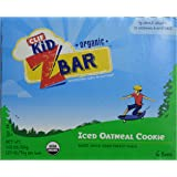 Clif Kid Zbar Organic Iced Oatmeal Cookie, 6 ct