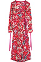 Find Vestido Estampado Estilo Kimono para Mujer