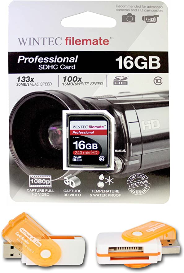 A free Hot Deals 4 Less High Speed all in one Card Reader is included Blazing Fast Card For FUJI S200EXR S205EXR S5700 16GB Class 10 Memory Card SDHC High Speed 20MB//Sec Comes with.
