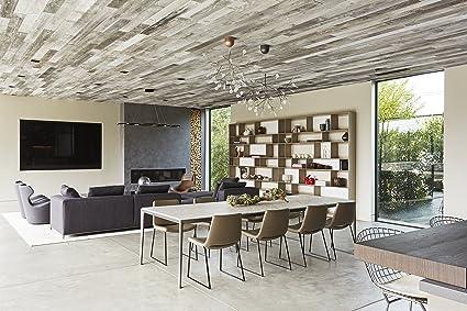 Antiguo madera paneles de pared - granero madera Siding regenerado por e y K Vintage al aire libre/interiores - cada Plank cobertizo (perfil, ...