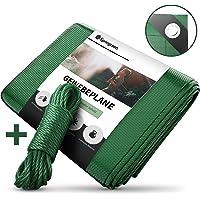 Lona Springreen 2x3m - Lona de tela reforzada e impermeable extra para proteger los muebles, la madera y como base o…