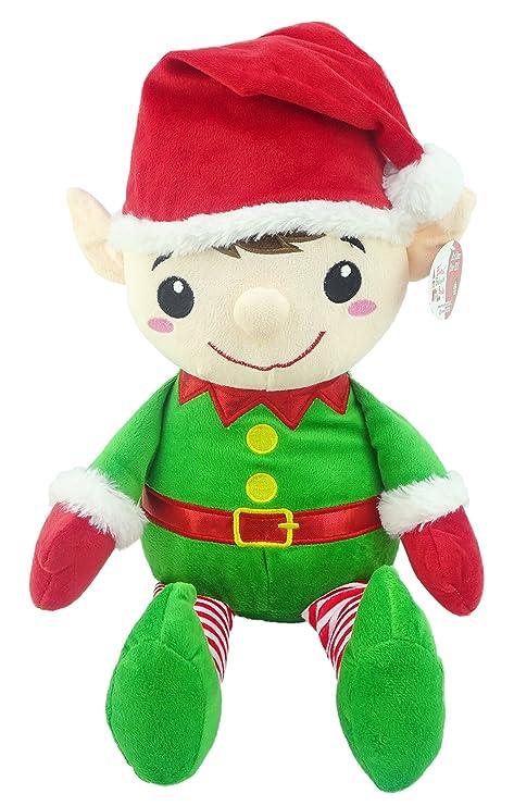 Amazon Com Large 20 Inch Soft Elf Plush Children S Christmas Toys