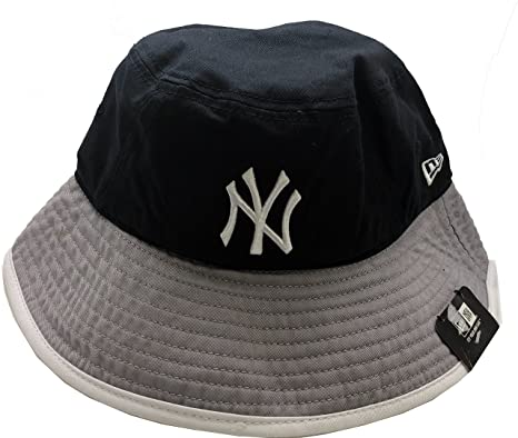 2864a90334fe87 ... usa new york yankees triple color topped bucket hat xl e86ba 58303
