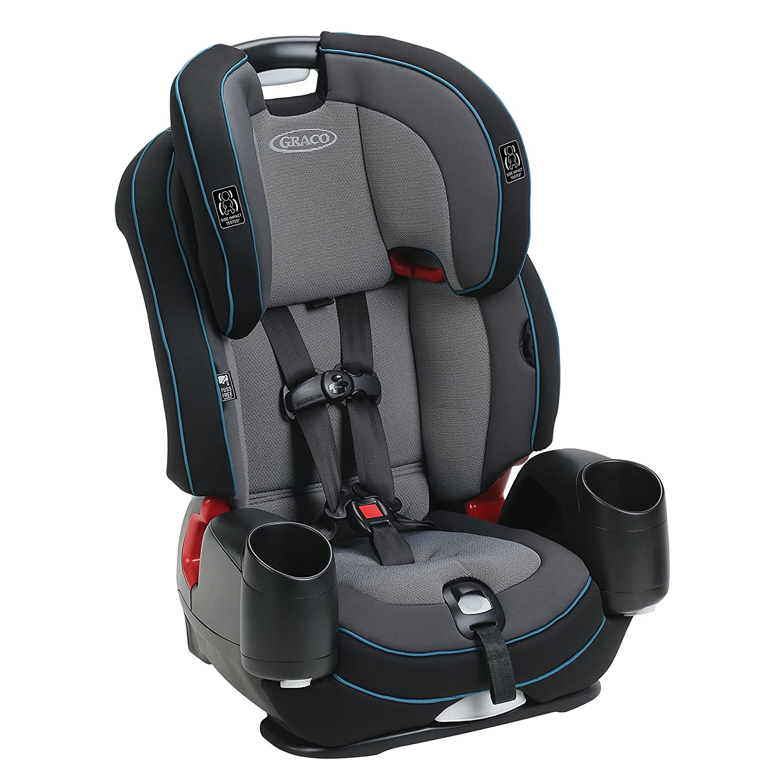 Cutler Graco Nautilus SnugLock LX 3 in 1 Harness Booster Car Seat
