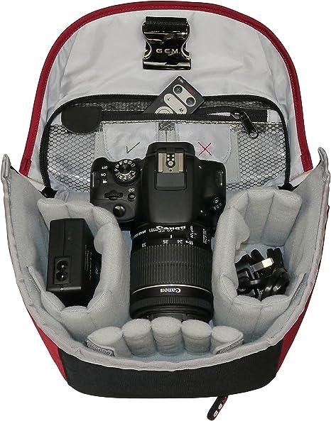 GEM funda para cámara para Nikon D3300, D5300, D5500, D5600, D7100 ...