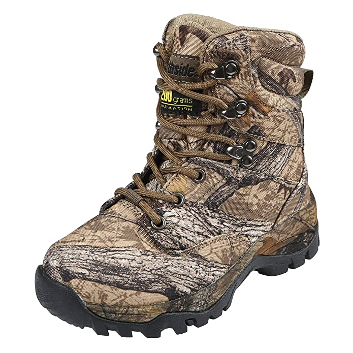 Northside Kids Crossite Waterproof 200 Gram Insulated Camo Hunting Boot Little Kid/Big Kid