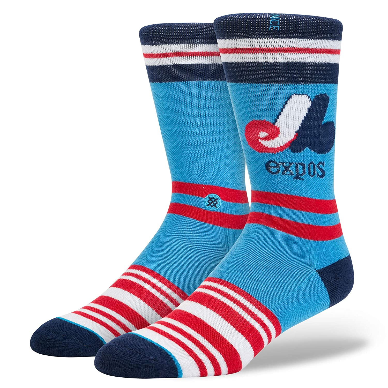 Stance Montreal Expos estate Collection MLB calzini blu blu M558A16EXP-BLU