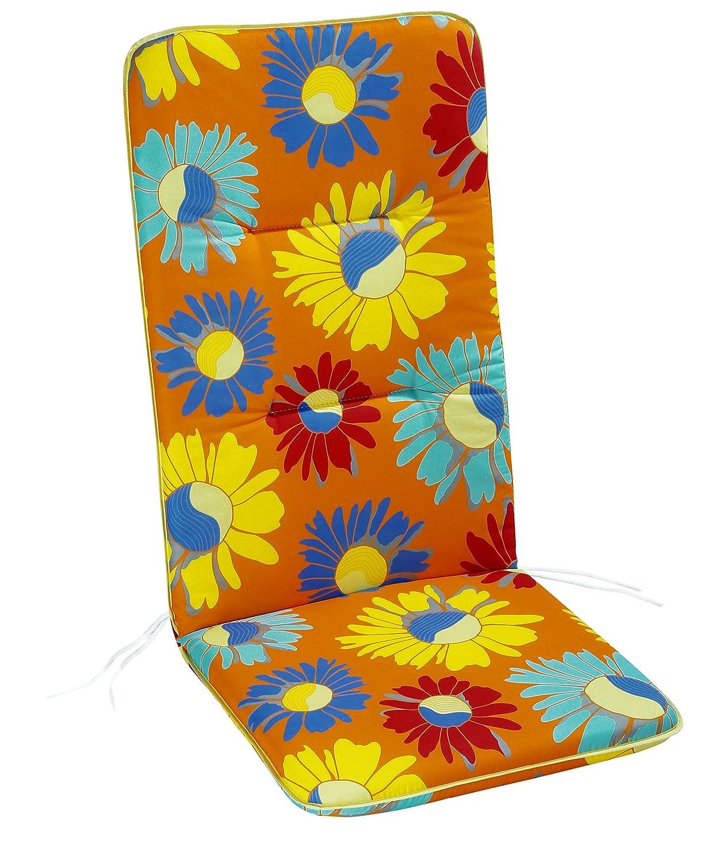 120 x 50 x 6 cm BEST Sesselauflage hoch 5201780 bunt