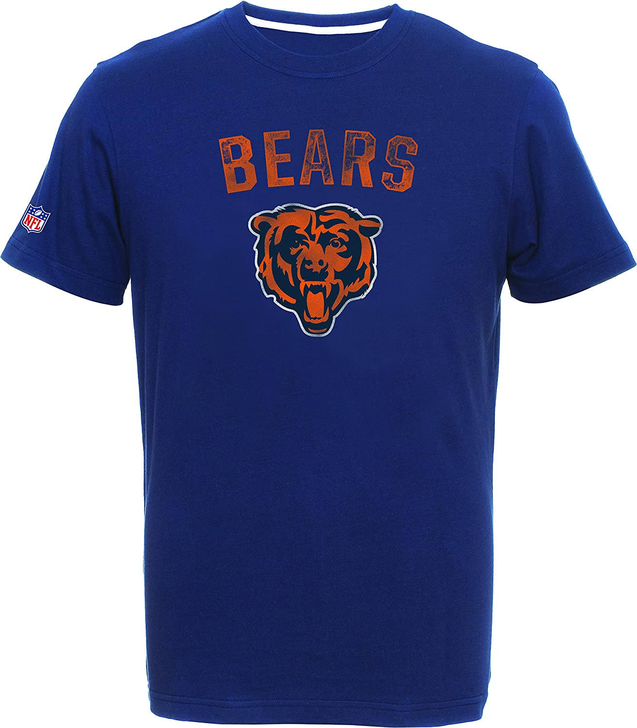 Majestic Athletic NFL Football T-Shirt Bradler Chicago Bears Navy