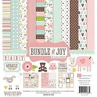 Echo Park Paper BJG45016 Bundle of Joy Girl Collection Scrapbooking Kit