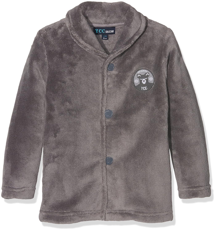 Z Boy's Dressing Gown Grey (Gris Fonce) 18-24 Months YCC 1I53041