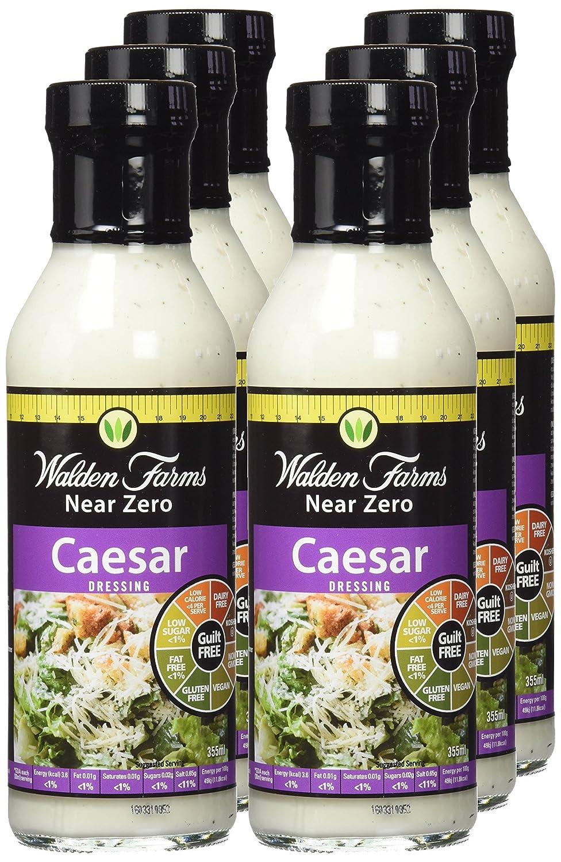 Walden Farms Aperitivo Dietético Salad Caesar - 6 Salsas: Amazon.es: Salud y cuidado personal