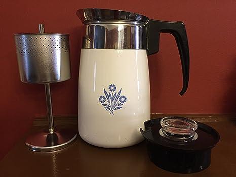 Amazon.com: Corning, color azul aciano 9-Cup Cafetera ...