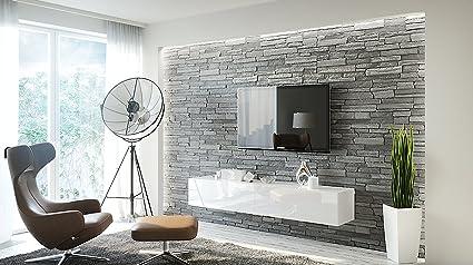 Amazon Com Concept Muebles Calipso 200 Tv Stand Tv Cabinet All In
