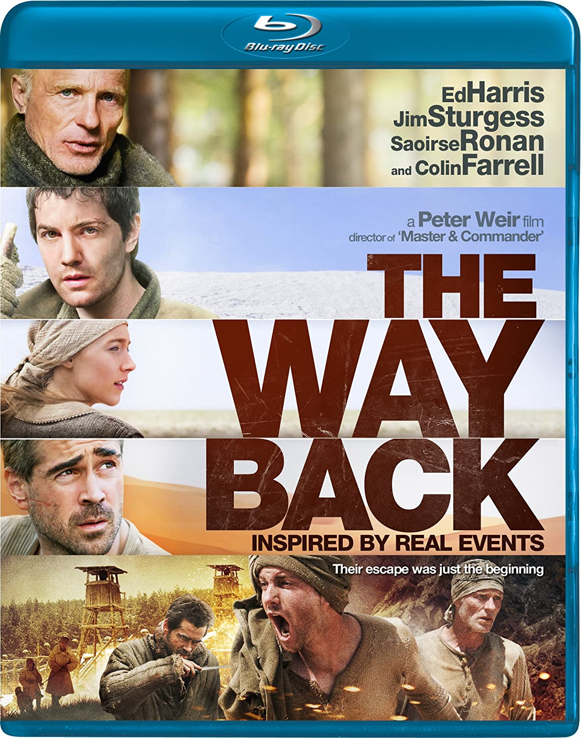 The Way Back 2010 BluRay 720p 1.3GB [Hindi DD 2.0 – English DD 2.0] Esubs MKV