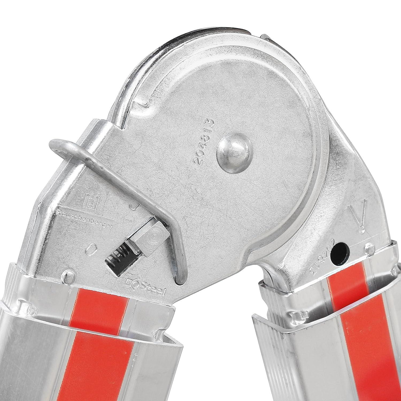 Hymer 404216 /Échelle t/élescopique SC 40 Telestep 4 x 4 /échelons en aluminium