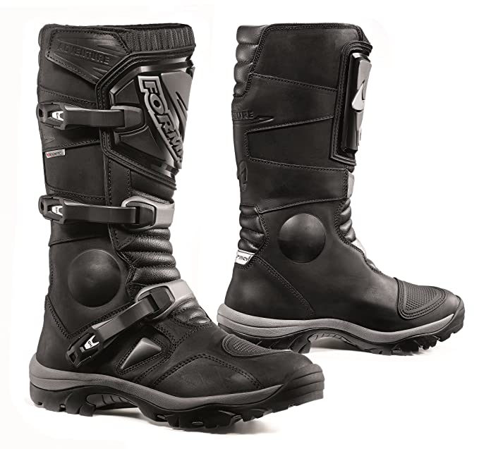 Black Rebel Adventure WP Bottes de Moto