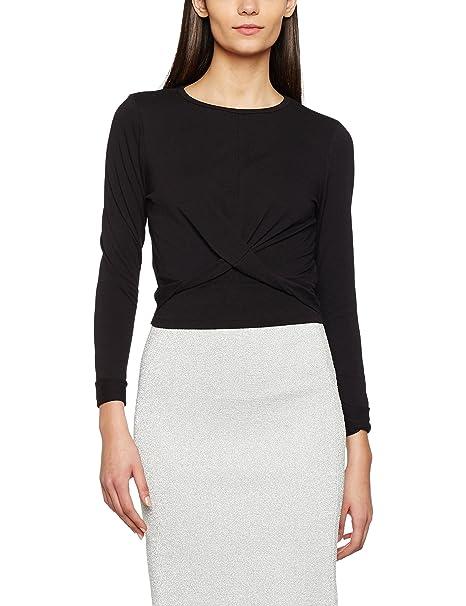 2f2485707fbd2f New Look Women s Twist Front Long Sleeve Top  Amazon.co.uk  Clothing