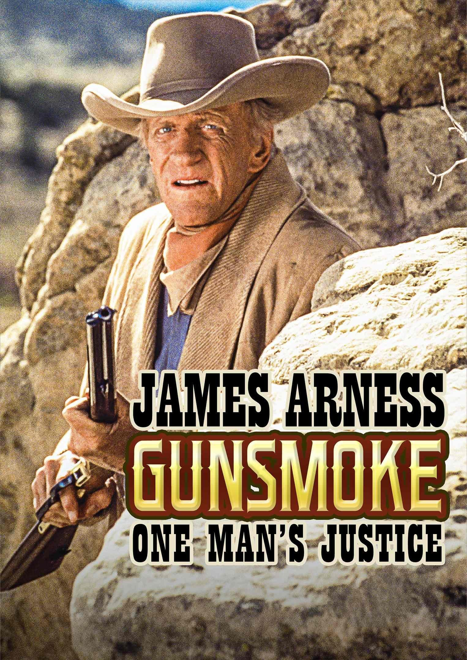 DVD : James Arness - Gunsmoke: One Man's Justice (DVD)