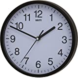 Unity Radcliffe Silent Sweep Wall Clock, Black