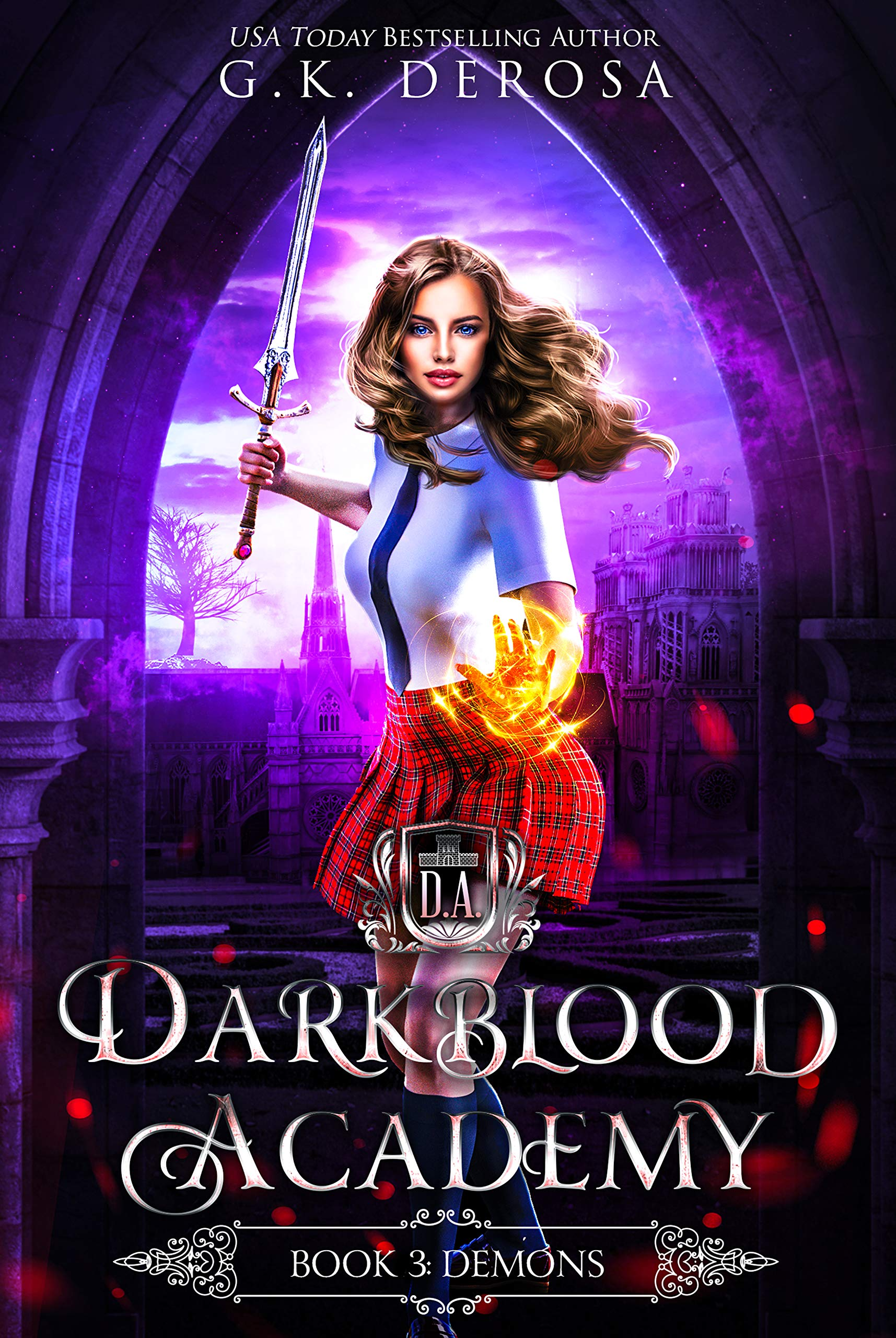 Darkblood Academy  Book Three  Demons  English Edition