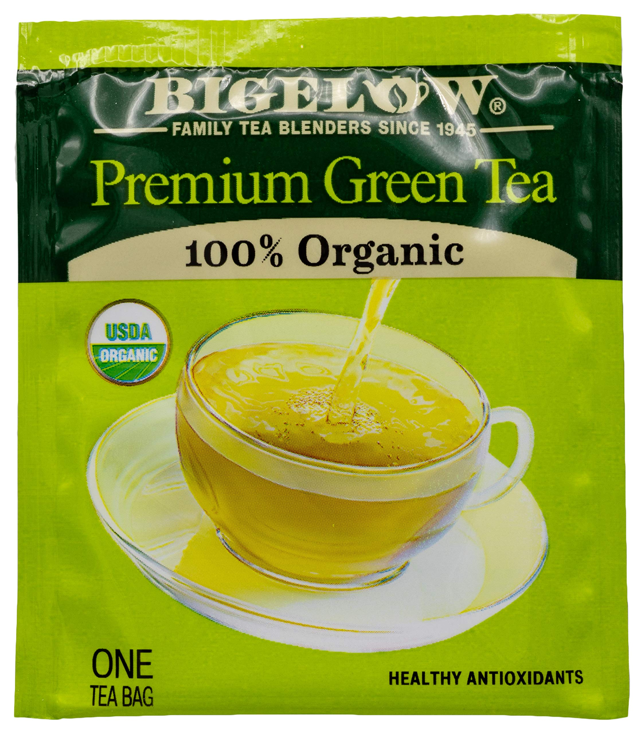 Bigelow Premium Green Tea Bags, 176 Count Box, Caffeinated Individual Green Tea Bags, for Hot Tea or Iced Tea, Drink Plain or Sweetened with Honey or Sugar by Bigelow Tea