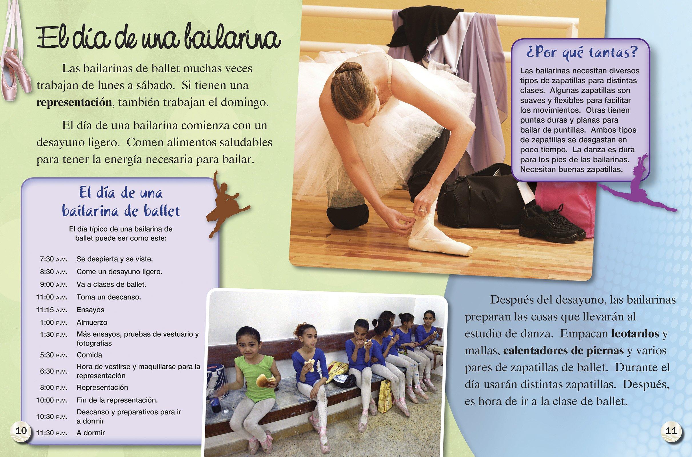 Amazon.com: Un día en la vida de una bailarina /A Day in the Life of a Ballerina (Time for Kids En Español, Level 3) (Spanish Edition) (TIME For Kids ...