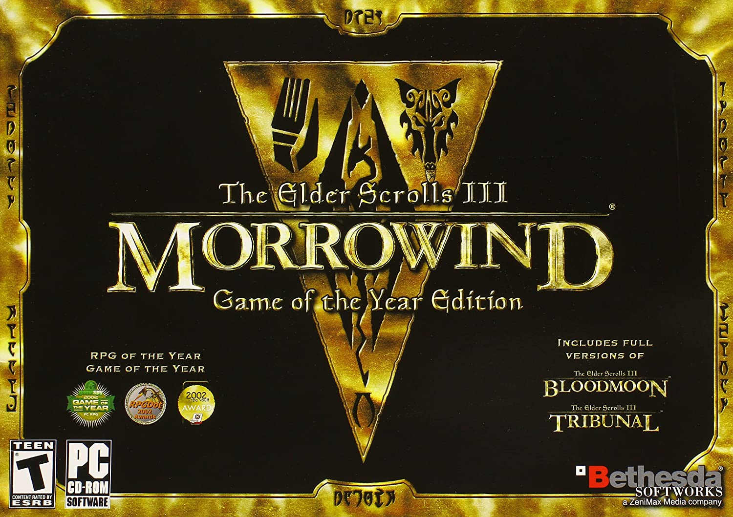 Amazon com: The Elder Scrolls 3: Morrowind, Collector's
