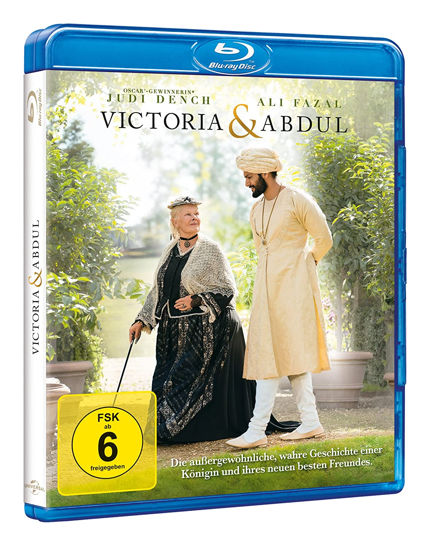 Victoria Abdul Blu Ray Amazon De Dame Judi Dench Ali