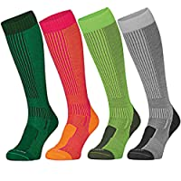 DANISH ENDURANCE Anti-Tick Merino Wool Outdoor Socks, Hiking and Trekking, For Men, Women and Kids, Extra Long, Repellent Protection against Ticks, Mosquitos, Insects. Ideal in Winter and Summer.