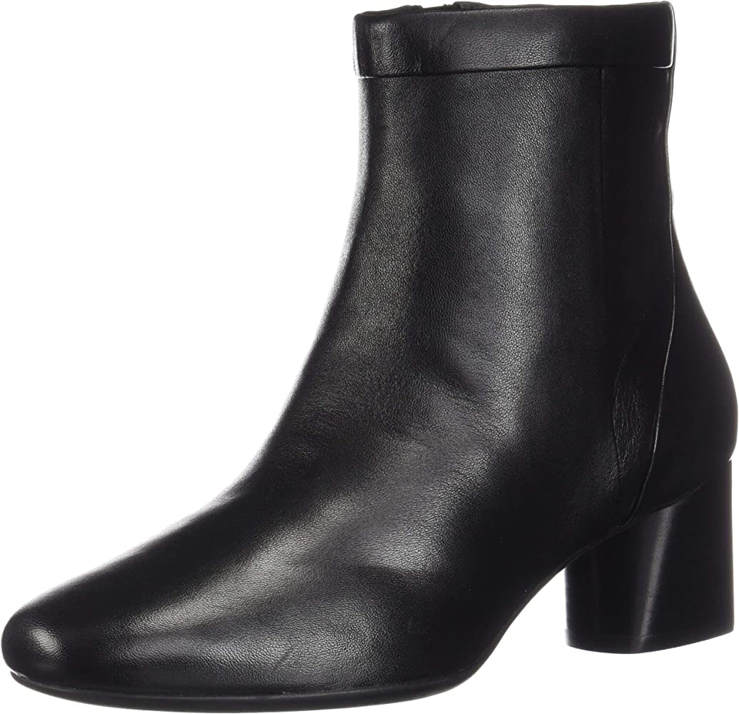 Clarks Un Cosmo Up Black Leather