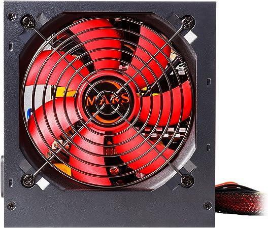 Farbe Schwarz MARS GAMING MPB650 650 W, 80 Plus Bronze, aktiver PFC, extrem leise PC-Netzteil
