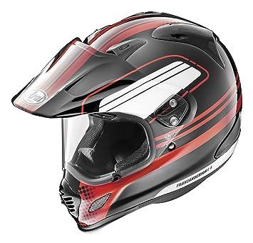 Cascos Arai XD4 distancia casco (rojo, XXL)