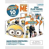 Bendon 41876 Despicable Me: Minion Made 10 Mini Play Packs