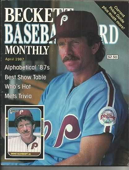 April 1987 Beckett Baseball Card Price Guide Wmike
